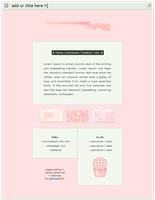 free   pastel pink aesthetic page code by gunsweat