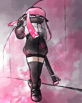 Dystopian Splatoon: Infiltrate by MayJasmine