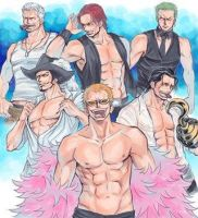 One Piece  'Magic Mike' by brittbratt1989