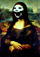 Mona Lisa-Scream by lousephyr