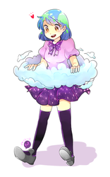.: Earth-Chan :. by Finni-NF