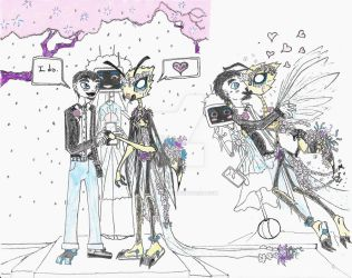 SciFi Wedding Scene by ProxyPony32