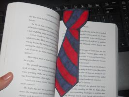 Dalton Tie Bookmark by PhantomOfARose