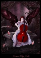 Demon Plays Cello by yaseminkaraca