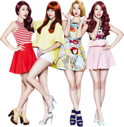 Girl's Day Render PNG by classicluv