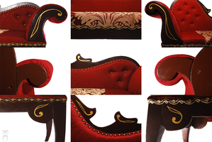 Chaise Longues SD size details by Katja-dollab