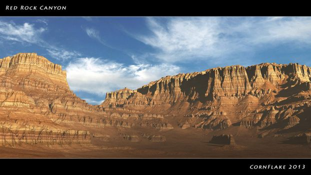 Red Rock Canyon by Nafe-81