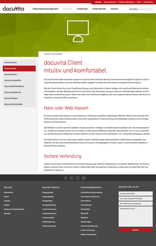 Docuvita Website (Content page) by SebastianKlammer