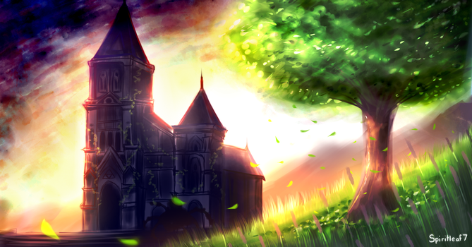 The Temple of Time by Spiritleaf7