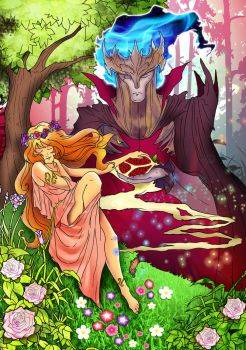 hades and persephone by alexCASTIEL
