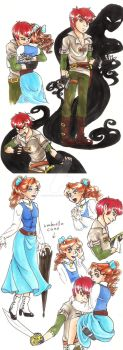 Peter And Wendy with a Twist by hopelessromantic721