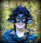 Spirit Raven Mask and Crown by Beadmask