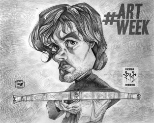 Tyrion Lannister - BN pencil by rickamacho by rickamacho