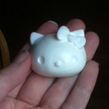 Resin Hello Kitty Head by Lisa99