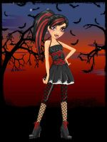 Ever After High: Cerise Hood (Rebel Style) by MiniatureBlueOwl