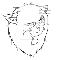 Facebook Headsketches #3 by FireFang1331