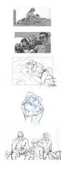 Jack/Johnny Tumblr Sketches by hellcorpceo