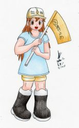 Platelet (Cells at Work) by MatthewGo707