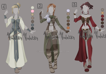 :: Adoptable Outfit 02: AUCTION CLOSED :: by VioletKy