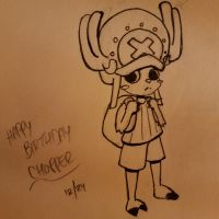Happy Birthday Chopper~ by JazCooper