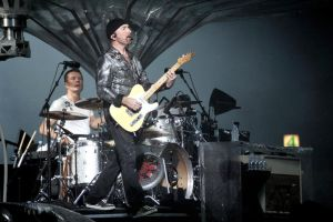 U2 in Moscow 5 -The Edge Larry by WilliH