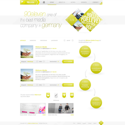 90eleven - Company Design by h1xndesign