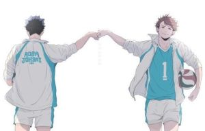 Iwaizumi X Reader | Broken Rule | Soulmates!AU by Greenwolves on
