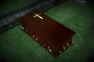 MMD Casket DOWNLOAD by Reseliee