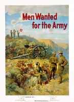 WWI US Army recrt. poster rstn by AdamCuerden