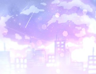 pastel city by IgaYandere