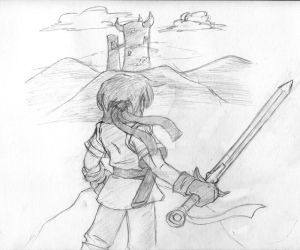 Mark's Quest -sketch- by foresteronly