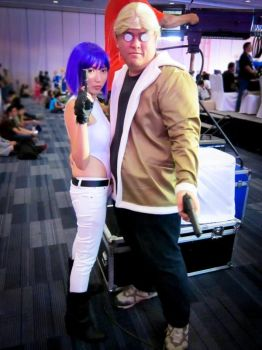 Ghost in the Shell: Motoko and Batou by hainrihi