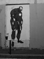 IRONMAN IN THE STREET... by duster132