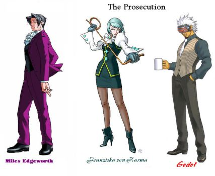 The Prosecution by trueloveiseternal