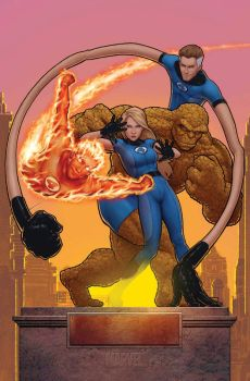 fantastic 4: issue 579 t.h.a. by johntylerchristopher