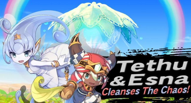 Tethu and Esna SSBU request by Elemental-Aura