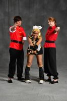 Rin With Ranma(s) at TigerCon by Angelstarr-Sakura