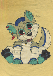 Cute Paws (Draw) by Tails--the--Fox