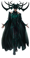 Ragnarok: Hela - Transparent! by Camo-Flauge