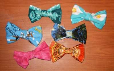 Bow Ties by cardnial-wolf