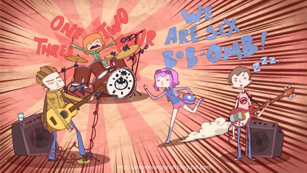 We Are Sex Bob-Omb by lost-angel-less