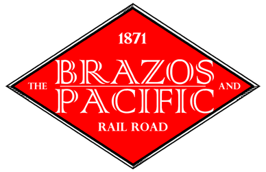 Brazos and Pacific Railroad Logo by LNucleus