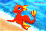 ::The Red Dragonfish:: by norngirl