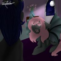 The Reveal - Crystal and Abyss' Story by GraceysWorld