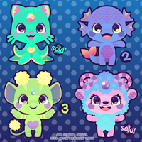Monsters by Miss-Glitter