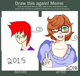 Draw this again meme by manga-lover3