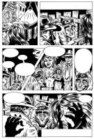 Unlettered Comics Page by Huwman