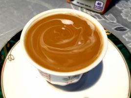 Cream and Coffee Swirl by AnonymousRabbitLover