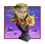 Captain Marvel by Gilliland35