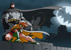 The Dark Knight Rises Again by NachoMon